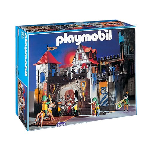 Playmobil fortress for sale at low price toy figues for Playmobil caballeros