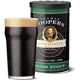 Strange Brew Irish Stout featuring Coopers Malt