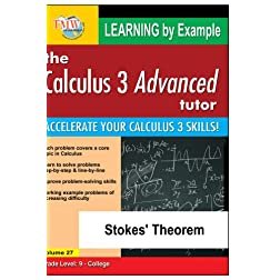Calculus 3 Advanced Tutor: Stokes' Theorem