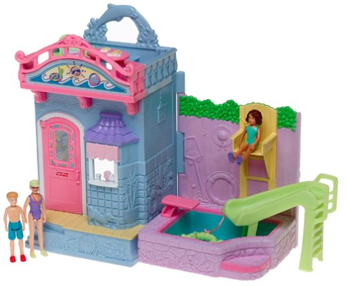 Sweet Streets Swimming Pool - Buy Sweet Streets Swimming Pool - Purchase Sweet Streets Swimming Pool (Fisher Price, Toys & Games,Categories,Dolls,Playsets)
