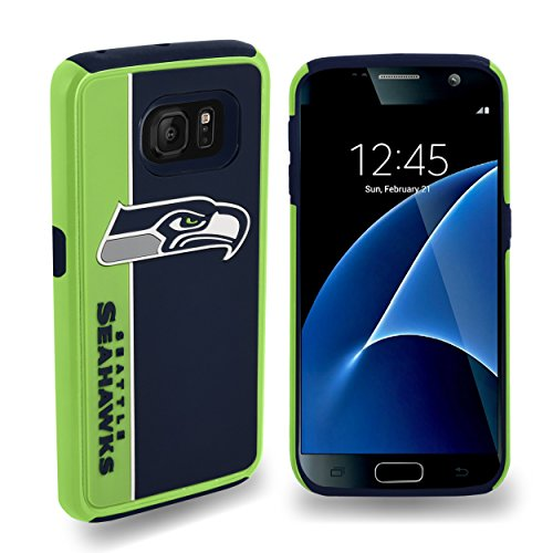 Forever-Collectibles-Dual-Hybrid-BOLD-Series-Case-for-Samsung-Galaxy-S7-NFL-Seattle-Seahawks