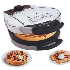 Waffle Maker UNO Reversible Heart Waffler / Belgian Waffler