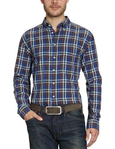 Gant Men's 391710 Casual Shirt Brown (Espresso) 50