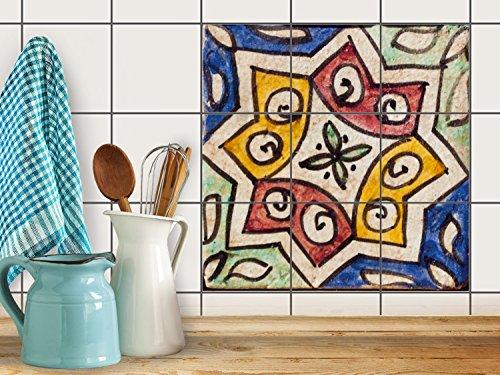 k che bad fliesenaufkleber folie sticker badfolie badfliesen k hlschranksticker k chendeko. Black Bedroom Furniture Sets. Home Design Ideas