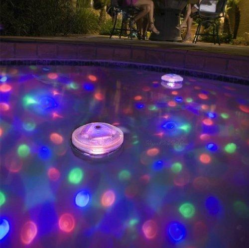 Patuoxun Bombilla LED Sumergible AquaGlow Acuario Glow Light Show Estanque Piscina Spa Hidromasaje Luz