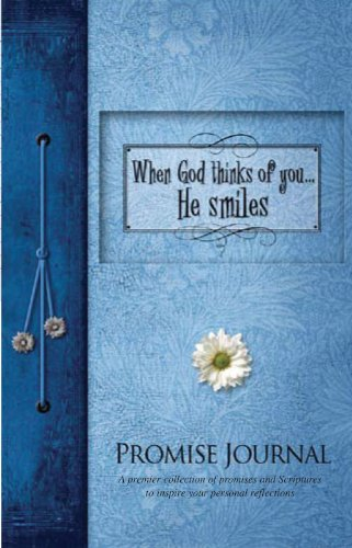 When God Thinks of You... He Smiles Promise Journal