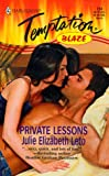 img - for Private Lessons (Blaze) book / textbook / text book