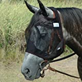 CASHEL CRUSADER QUIET RIDE FLY MASK - STANDARD - ALL SIZES