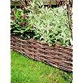 Bordura recinzione per aiuole in legno di pino for Recinzione aiuole