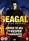 Seagal 3 Disc Boxset (Driven to Kill / The Keeper / Dangerous Man) [DVD]