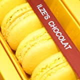 Ilze's Chocolat box of 8 Lemon Macaroons with Real Lemon and White Chocolate Buttercream