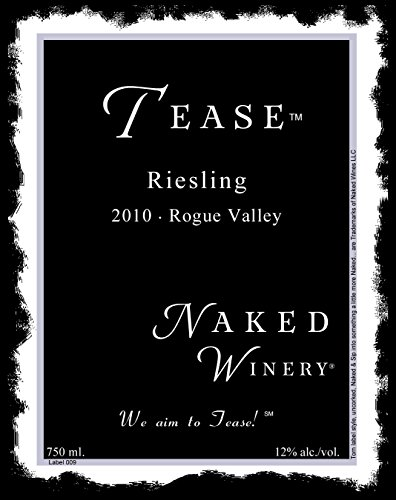 2010 Naked Winery Tease Riesling 750 Ml