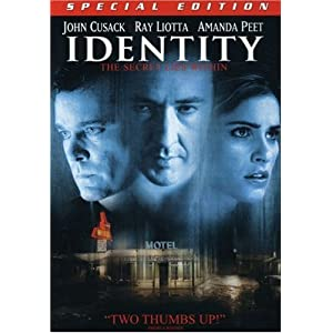 Click to buy Scariest Movies of All Time: Identity from Amazon!
