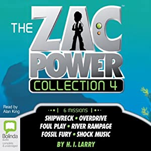 The Zac Power Collection 4 Audiobook
