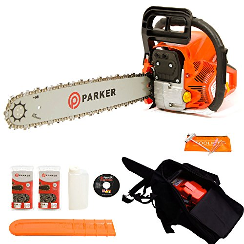 58cc-20-petrol-chainsaw-2-x-chains-free-carry-case-bar-cover-tool-kit