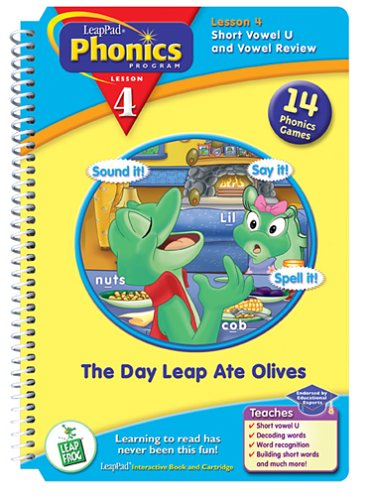 LeapPad Phonics Book 4