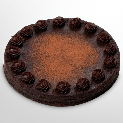 Golden Edibles Indulged 10 in. Chocolate Truffle Cake
