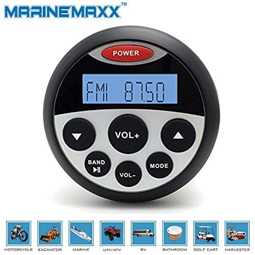 Waterproof-Marine-Radio-FM-AM-MP3-Gauge-Stereo-Bluetooth-Music-for-BOAT-ATV-UTV-SPA
