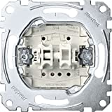 Merten MEG3755-0000 Rollladentaster-Einsatz, 1-polig, 10 A, AC 250 V, Steckklemmen