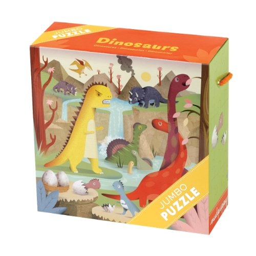 51RKZYC9BxL Reviews Dinosaurs Jumbo Puzzle