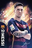Barcelona- Messi 15/16 Poster 24 x 36in