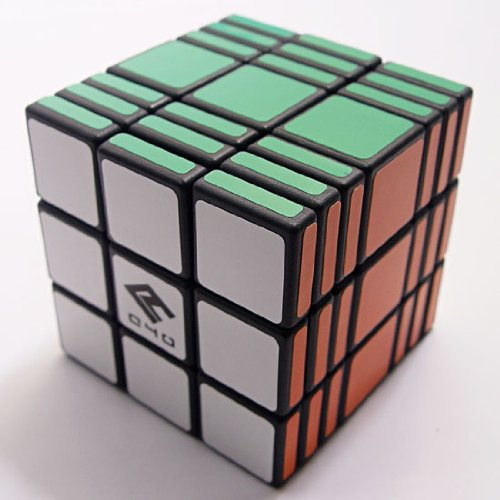 C4U Speed Cube, Black, 3 x 3 x 7
