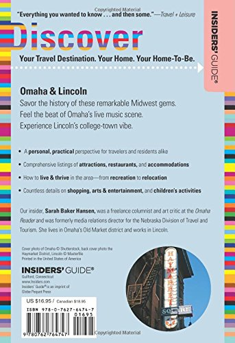 Insiders' Guide to Omaha & Lincoln (Insiders' Guide Series)