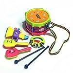 KINGSO 5Pcs Baby Kids Roll Drum Marac...