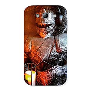 Cute Warrior Knight Print Back Case Cover for Galaxy Grand
