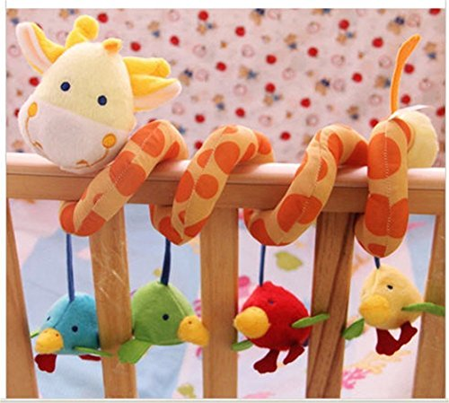 ELENKER-Giraffe-Baby-Crib-Toy-from-Wrap-Around-Crib-Rail-Toy-or-Stroller-Toy-Favorite-Baby-Toys