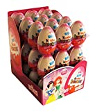 Kinder Surprise Disney Princess Chocolate Eggs, with toy inside [Pack of 24]