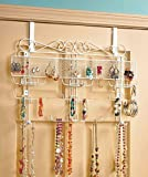 Generic New Over the Door Jewelry Valet Storage Organizer Necklace Bracelets Rings
