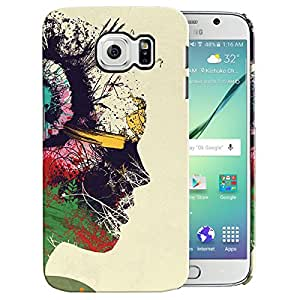 Theskinmantra Head phones back cover for Samsung Galaxy S6