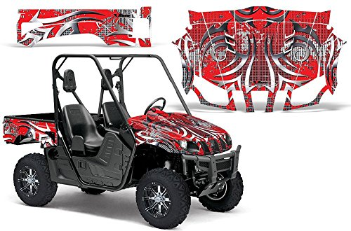 2004-2013-Yamaha-Rhino-450660700-AMRRACING-SXS-Graphics-Decal-KitDeaden-Red