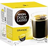 Nescafé Dolce Gusto Grande 16 Capsules (Pack of 3, Total 48 Capsules/coffee pods, 24 servings)