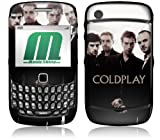 MusicSkins, MS-CP20044, Coldplay - Viva La Vida, BlackBerry Curve (8520/8530), Skin