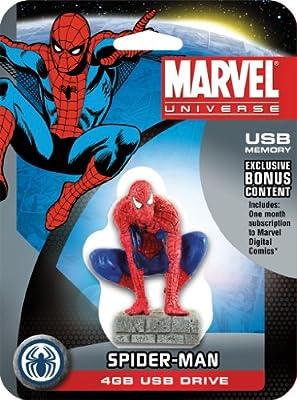 Spiderman 4GB USB Memory Stick Marvel Classic from Marvel