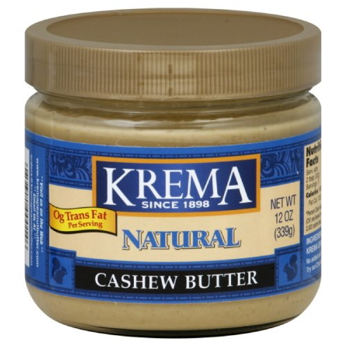 Krema Cashew Butter, 12-Ounce (Pack of 3)