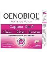 Oenobiol Perte de Poids Capteur 3 en 1 60 Gélules