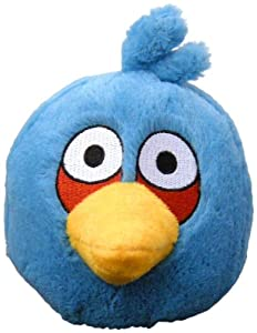 Angry Birds Plush 5-inch Blue Bird With Sound by Commonwealth Toy