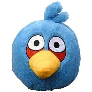 Peluche Angry Birds Bleu