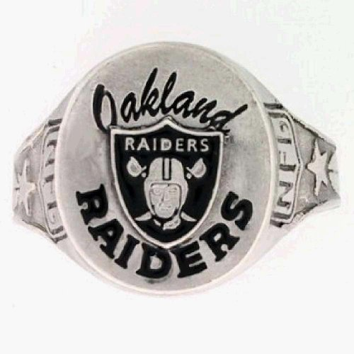Oakland Raiders Rings Size 12