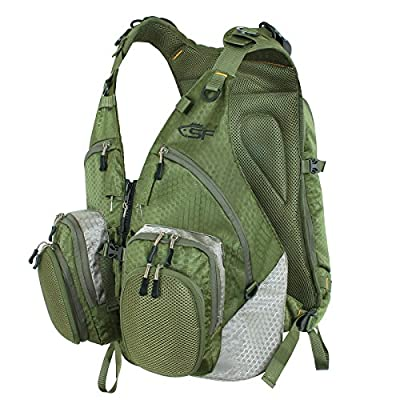 SF Fly Fishing BackPack with Vest Adjustable Size by Sunshine