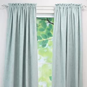Chooty Rod Pocket Curtain Panel, 54 by 108-Inch, Passion Suede Cloud