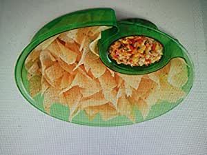 Pampered Chef Chip & Dip Bowl