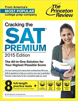 princeton review sat prep book amazon