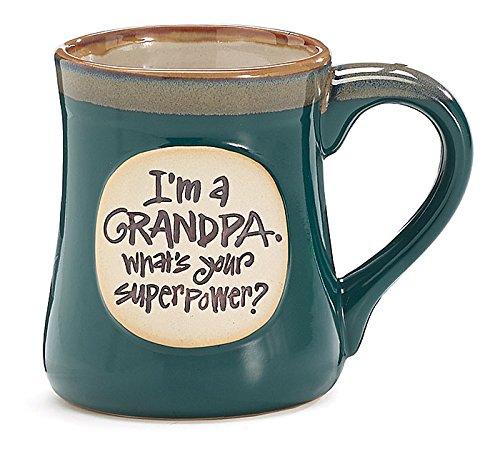 Im a Grandpa Whats Your Super Power Ceramic Mug (Grandpa Coffee Mug compare prices)