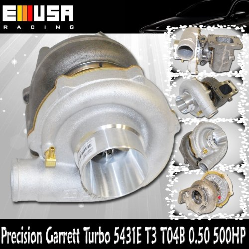 T3 T04B 0.63 PRECISION GARRETT TURBO 5431E NEW Max. Rated HP 500 Horse