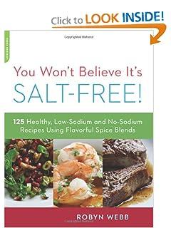 Salt free diet