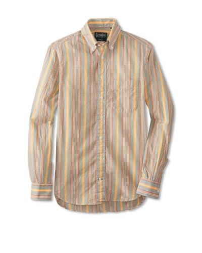 Gitman Vintage Men's Striped Button-Up Shirt